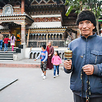 Outside the Temple, Bhutan by Rohit Gajmer <br />