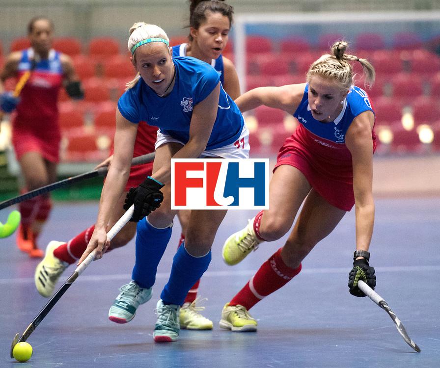 BERLIN - Indoor Hockey World Cup<br /> Czech Republic - Namibia<br /> foto: MEJZLIKOVA Tereza<br /> WORLDSPORTPICS COPYRIGHT FRANK UIJLENBROEK