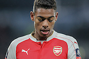 Jeff Reine-Adelaide (Arsenal) during the The FA Cup fifth round match between Hull City and Arsenal at the KC Stadium, Kingston upon Hull, England on 8 March 2016. Photo by Mark P Doherty.