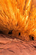 House on Fire Ruin, Mule Canyon, Cedar Mesa, San Juan County, Utah, USA