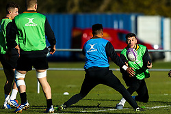 Matteo Minozzi of Wasps during training ahead of the European Challenge Cup fixture against SU Agen - Mandatory by-line: Robbie Stephenson/JMP - 18/11/2019 - RUGBY - Broadstreet Rugby Football Club - Coventry , Warwickshire - Wasps Training Session