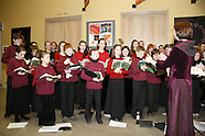 Pictured at the National Museum of Ireland Collins Barracks on 6th December 2008 were Choir singers.