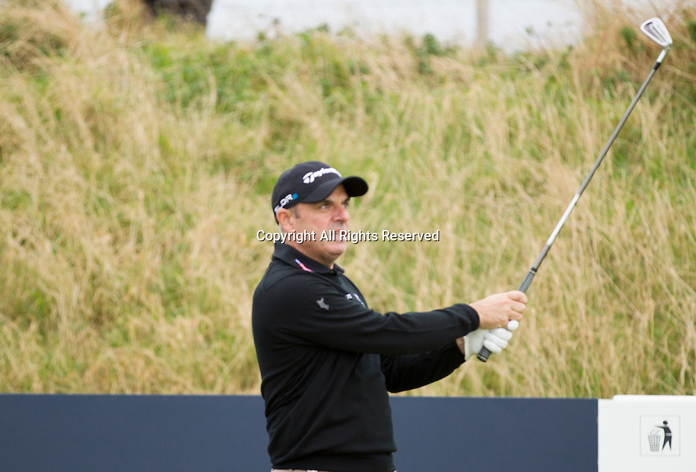 03.10.2014. Kingsbarns, Scotland. Alfred Dunhill Links Championship. EUROPE Team Captain Paul McGinley