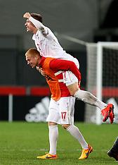 Dunedin-Football, Under 20 World Cup, Serbia v Mexico