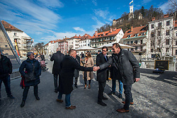 Count down ceremony to CEV Euro Volley 2019 in Ljubljana, Slovenia.