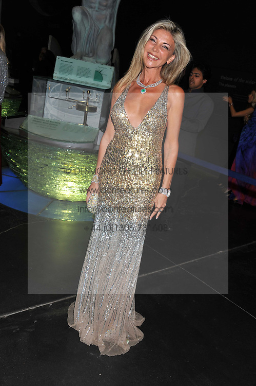 LISA TCHENGUIZ at The Global Party held at The Natural History Museum, Cromwell Road, London on 8th September 2011.