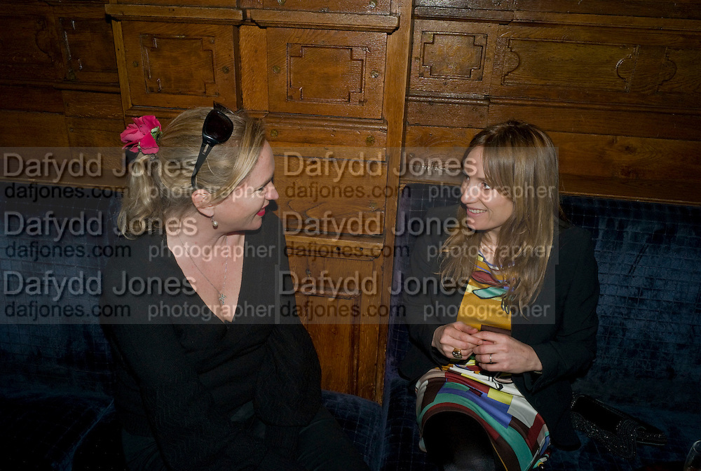 IMOGEN EDWARDS-JONES; EMILY OPPENHEIMER-TURNER, Book launch for Citizen by Charlie Brooks. Tramp. London. 1 April  2009
