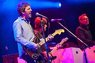 Noel Gallagher performing live at Roskilde Festival.
