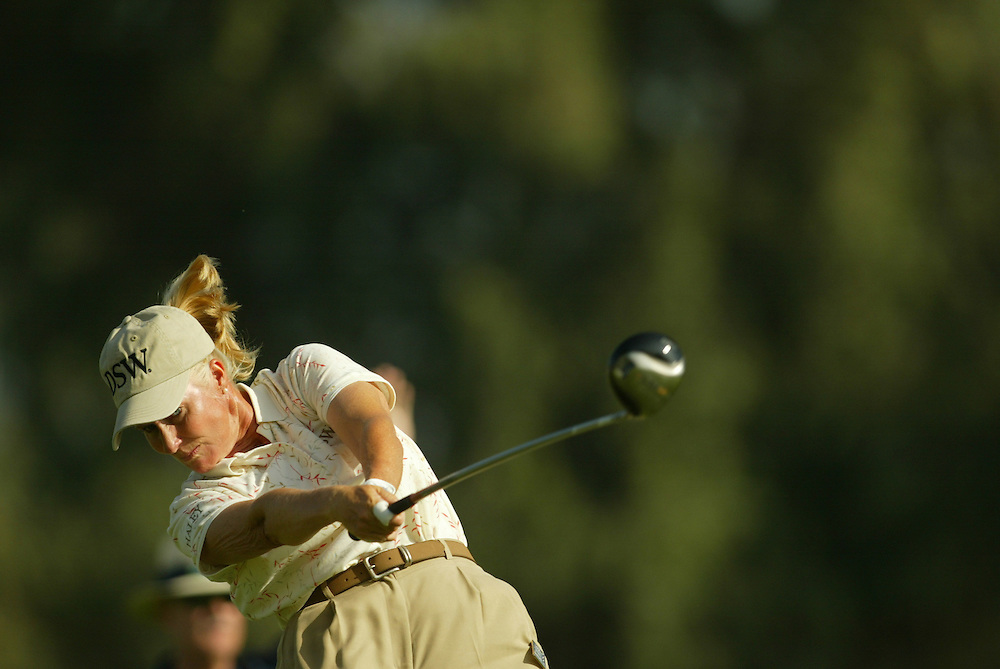 Betsy King..2004 Kraft Nabisco Championship.MIssion Hills CC.Rancho Mirage, CA .First Round.Thursday, March 25 2004..photograph by Darren Carroll