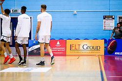A boards - Rogan/JMP - 11/10/2019 - BASKETBALL - SGS Wise Arena - Bristol, England - Bristol Flyers v Plymouth Raiders - BBL Cup.