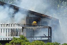 Wellington-House fire on Mana Esplanade