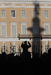 April 26, 2018 - Saint-Petersburg, Russia - Russian soldiers march during a rehearsal for the Victory Day military parade at Dvortsovaya (Palace) Square in St.Petersburg, Russia. Russia prepare to celebrate 73 anniversary of victory in World War II. (Credit Image: © Elena Ignatyeva via ZUMA Wire)