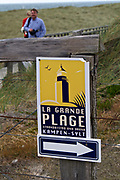 Sylt, Germany. Kampen. La Grande Plage.