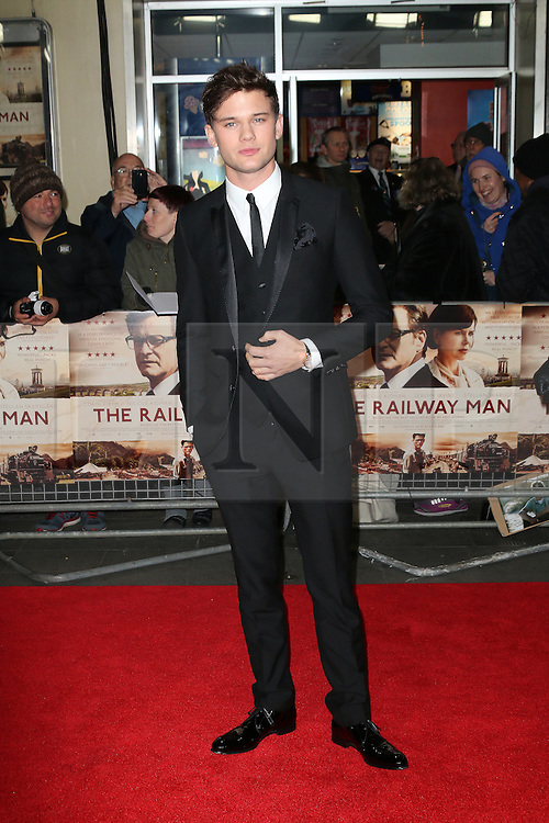 © Licensed to London News Pictures. 04/12/2013, UK. Jeremy Irvine, The Railway Man - UK Film Premiere, Odeon West End, Leicester Square, London UK, 04 December 2013. Photo credit : Richard Goldschmidt/Piqtured/LNP