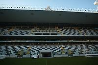 BRAGA-12 DEZEMBRO:PRESS STAND (bancada de impresa) no Est‡dio do Bessa, reconstruido para albergar a equipa da primeira liga Boavista F.C. e o EURO 2004 12-12-2003 <br />(PHOTO BY: AFCD/JOSƒ GAGEIRO)