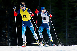 CHOKHLAEV Stanislav Guide: FATKHULLIN, UKR, Long Distance Cross Country, 2015 IPC Nordic and Biathlon World Cup Finals, Surnadal, Norway