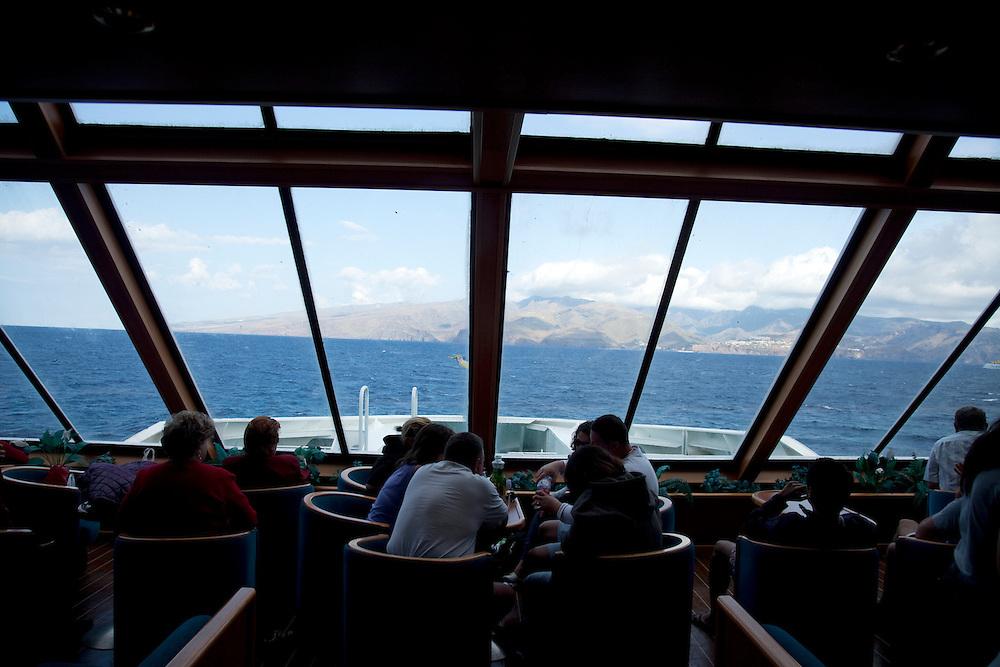 La Gomera ferry, Tenerife.