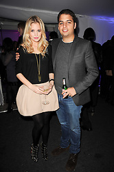 MARISSA MONTGOMERY and JAMIE REUBEN at a party to celebrate the Mulberry Autumn Winter 2010 collection held at The Orangery, Kensington Palace, London on 21st February 2010.