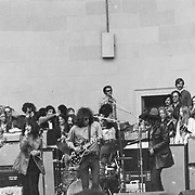 Jefferson Airplane plays a free concert in Central Park, NY 8/10/1969