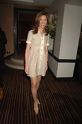 HEATHER KERZNER at a lunch hosted by Ralph Lauren to present their Spring 2007 collection in support of the Serpentine Gallery's Education Programme, held at Fifty, 50 St.James's Street, London SW1 on 20th March 2007.<br /><br />NON EXCLUSIVE - WORLD RIGHTS