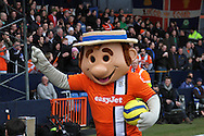Picture by David Horn/Focus Images Ltd +44 7545 970036.16/02/2013.Harry the Hatter, the Luton Mascot before their game against  Millwall in the The FA Cup match at Kenilworth Road, Luton.