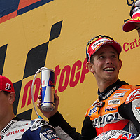 2011 MotoGP World Championship, Round 5, Catalunya, Spain, 5 June 2011, Ben Spies, Casey Stoner, Jorge Lorenzo