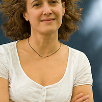 EDINBURGH, SCOTLAND - AUGUST16 : Marina Benjamin. poses during a portrait session held at Edinburgh Book Festival on August 16, 2007  in Edinburgh, Scotland. (Photo by Marco Secchi/Getty Images).