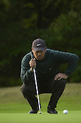 Photo Peter Spurrier.17/10/2002 Thur.CISCO World Matchplay Championships - Wentworth.Mike Campbell..[Mandatory Credit Peter Spurrier/ Intersport Images]