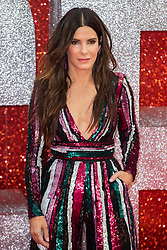 Sandra Bullock at the London Premiere of Oceans 8 in Leicester Square. London, June 15 2018.