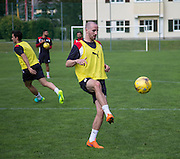 Dundee&rsquo;s James Vincent  -  Dundee FC pre-season training camp in Obertraun, Austria<br /> <br />  - &copy; David Young - www.davidyoungphoto.co.uk - email: davidyoungphoto@gmail.com
