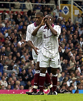 Copyright Sportsbeat. 0208 3926656<br />Picture: Henry Browne<br />Date: 11/05/2003<br />Birmingham City v West Ham United FA Barclaycard Premiership<br />Jermaine Defoe looks disconsolate after his free kick is saved by City keeper Ian Bennett