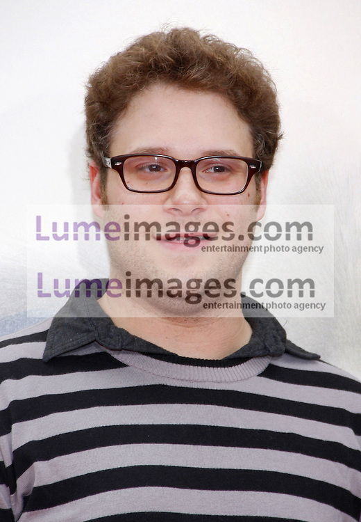 Seth Rogen at the Los Angeles premiere of 'Kung Fu Panda 2' held at the Grauman's Chinese Theater in Hollywood, USA on May 22, 2011.