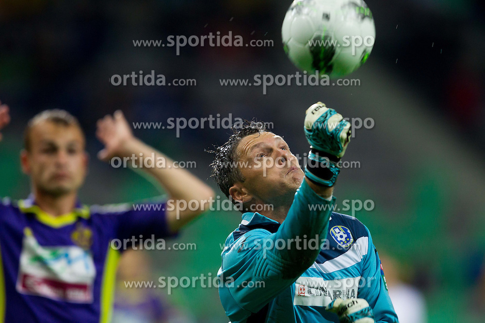 Amel Mujcinovic of Celje during football match between NK Celje and NK Maribor in final of Hervis Cup 2011/12, on May 23, 2012 in SRC Stozice, Ljubljana, Slovenia.  (Photo by Vid Ponikvar / Sportida.com)