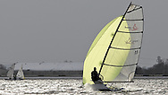 ENGLAND, London, Queen Mary Sailing Club, January 9th 2010, Bloody Mary Pursuit Race, D-One 11, Andy Rice (RYA)