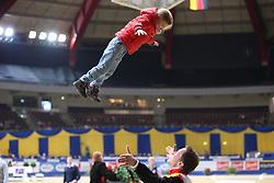 Kaiser, Daniel (GER), <br /> Dortmund - Signal Iduna Cup 2016<br /> Voltigieren FEI Weltcup Finale Herren<br /> © www.sportfotos-lafrentz.de / Stefan Lafrentz