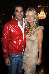 TIM MOUFFARIGE and ANNABEL WOLOWICZ at a party and fashion show to celebrate the 40th anniversary of Butler & Wilson held at Koko, 1 Camden High Street, London NW1 on 12th November 2009.