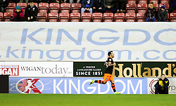 Ross Wallace of Sheffield Wednesday celebrates after scoring his sides first goal  - Mandatory by-line: Matt McNulty/JMP - 03/02/2017 - FOOTBALL - DW Stadium - Wigan, England - Wigan Athletic v Sheffield Wednesday - Sky Bet Championship