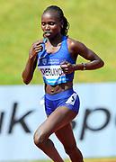 Vivian Cheruiyot (KEN) wins the women's 5,000m in 15:12.79 during IAAF Birmingham Diamond League meeting at Alexander Stadium on Sunday, June 5, 2016, in Birmingham, United Kingdom. Photo by Jiro Mochizuki
