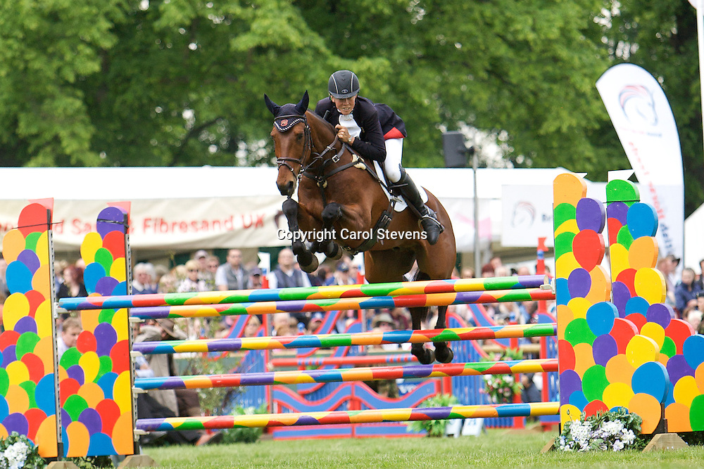 Equi-Trek Bramham International Horse Trials 2012 CCI3*<br /> Lucy Jackson and Willy Do  (NZL)<br /> Final Result - 8th