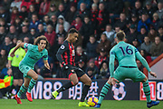 Matteo Guendouzi (Arsenal) comes on as a substitute during the Premier League match between Bournemouth and Arsenal at the Vitality Stadium, Bournemouth, England on 25 November 2018.