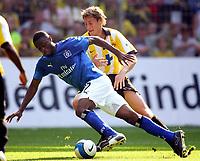 v.l. Boubacar Sanogo, Markus Brzenska Dortmund<br /> Bundesliga Borussia Dortmund - Hamburger SV<br /> Norway only