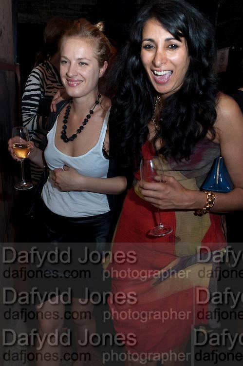 POLLY MORGAN; SERENA REES, Angel. London. 2 July 2009.