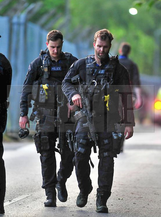 © Licensed to London News Pictures. 30/05/2017. <br /> Chislhurst, UK. <br /> Armed police hunt for gunman.<br /> Police hunt for gunman. reports of a gunman near Darul Uloom school, Foxbury Avenue, Chislehurst.<br />   Photo credit: Grant Falvey/LNP