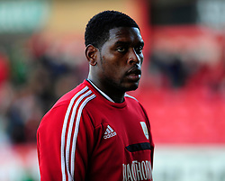 Bristol City's Jay Emmanuel-Thomas - Photo mandatory by-line: Robin White/JMP - Tel: Mobile: 07966 386802 21/10/2013 - SPORT - FOOTBALL - Selhurst Park - London - Crystal Palace V Fulham - Barclays Premier League