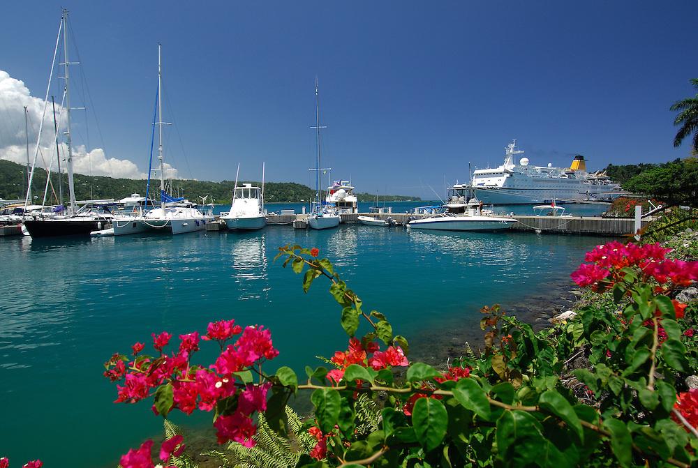 Errol Flynn Marina, Port Antonio, North Coast, Jamaica, Caribbean