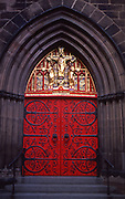 Historic Philadelphia, Church of the Holy Trinity Door, Rittenhouse Square, Philadelphia, PA