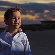2012 Cain family beach portraits at Isle of Palms, South Carolina near Charleston.
