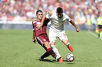 25.09.2016 - Torino - Serie A 2016/17 - 6a giornata  -  Torino-Roma  nella  foto: Diego Perotti  e Iago Falque