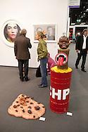 Europe, Germany, Cologne, the art exhibition Art Cologne at the exhibition centre in the town district Deutz, sculpture &quot;Petroleum Prodigy No.3&quot; by Wang Mai.<br /> <br /> Europa, Deutschland, Koeln, Kunstmesse Art Cologne in den Deutzer Messehallen. Skulptur &quot;Petroleum Prodigy No.3&quot; von Wang Mai. ***HINWEIS ZU DEN ABGEBILDETEN KUNSTWERKEN - RECHTE DRITTER SIND VOM NUTZER ZU KLAEREN*** ***PLEASE NOTE: THIRD PARTY RIGHTS OF THE SHOWN WORK OF ART MUST BE CHECKED BY THE USER***
