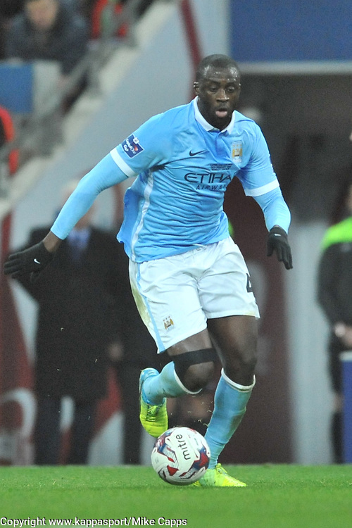 YAYA TOURE MANCHESTER CITY, Liverpool FC v Manchester City FC Capital One Cup Final, Wembley Stadium, Sunday 28th Febuary 2016